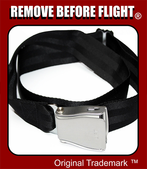 remove before flight belt
